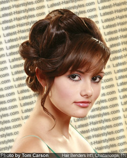 hair styles for formal occasions