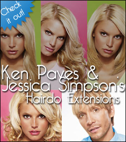 hairdo extensions by jessica simpson