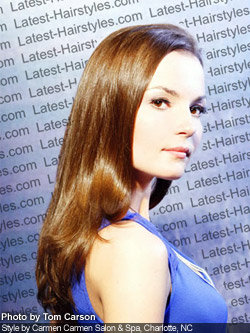 Long Sleek Hairstyles