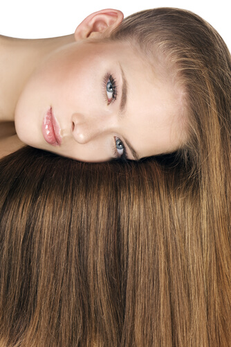 Golden Honey Brown Hair Color