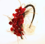 holiday hairstyles flower