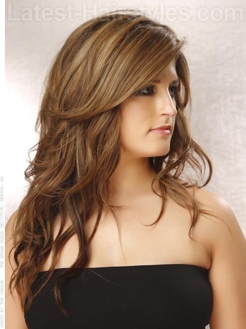 Hairstyles For Long Hair Highlights : Hairstyles For Long Hair With Layers And Highlights