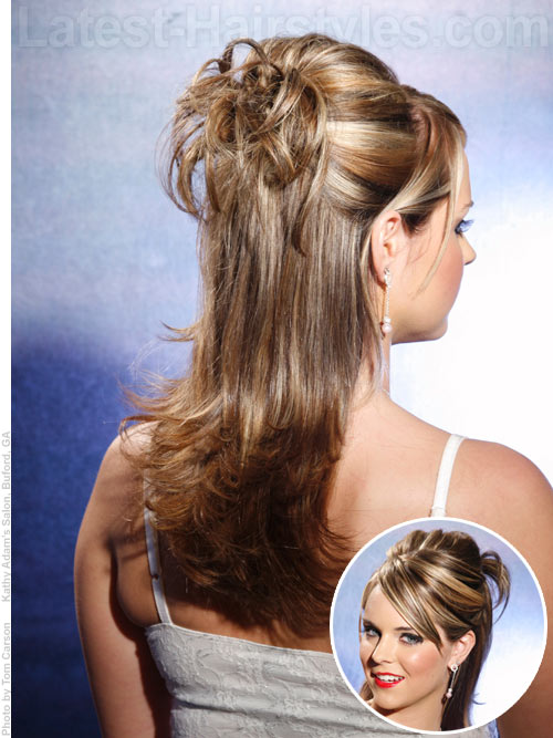 Hair Half Updos For Prom