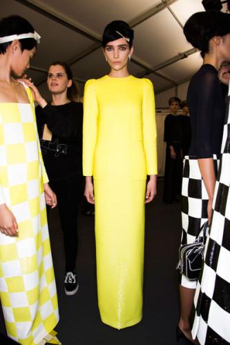 Louis Vuitton Spring 2013 prom hair ideas