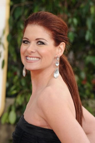 Debra Messing romantic hair