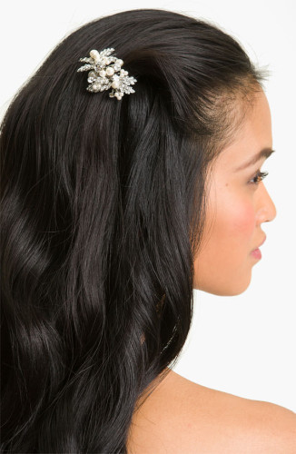 embellished hair comb accessories
