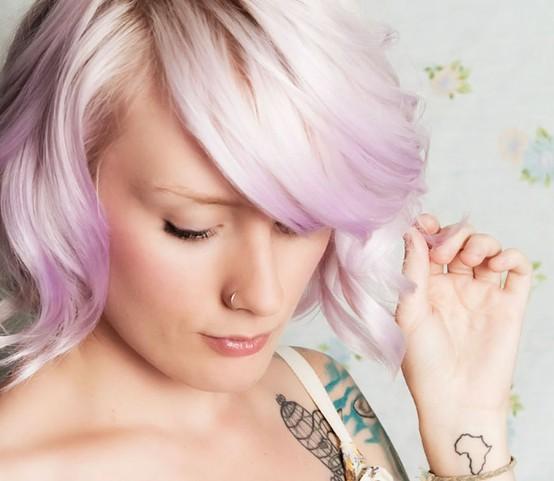 Pastel hair colors