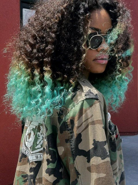 Pastel hair color from Pinterest