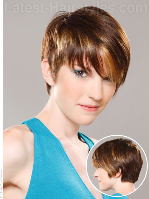 Hairstyles For Short Hair Cute Girl Hairstyles : 25 Really Cute and Easy Hairstyles for School