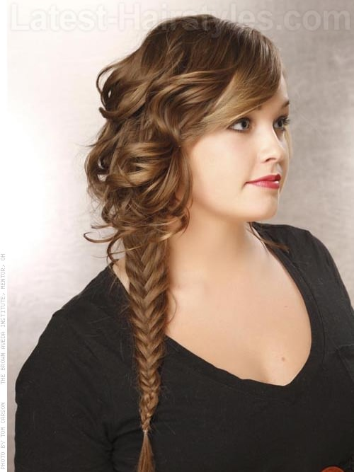 Side Fishtail Braid Hairstyles