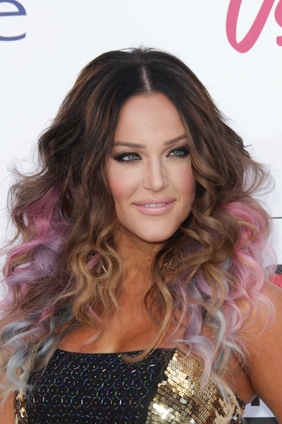 Lacey Schwimmer pastal hair color
