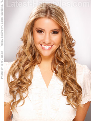 20 Easy Hairstyles For Long Hair 10 Seconds Or Less