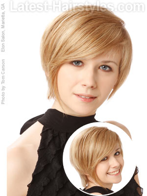 Cute Hairstyles For Short Hair Round Face : Can You Rock 1 of These 20 Short Hairstyles for Round Faces?