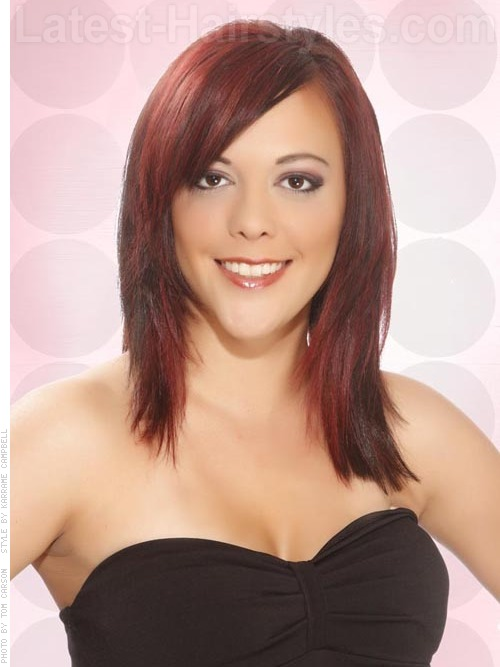 10 Lovely Layered Hairstyles Amp Haircuts Ok Top Ten