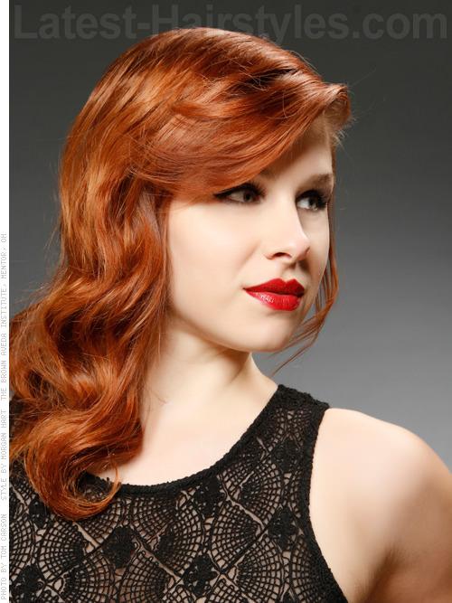 Summer Sunset Red Hair