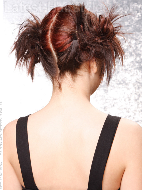 Brunette hair color perfect for teen girls angle
