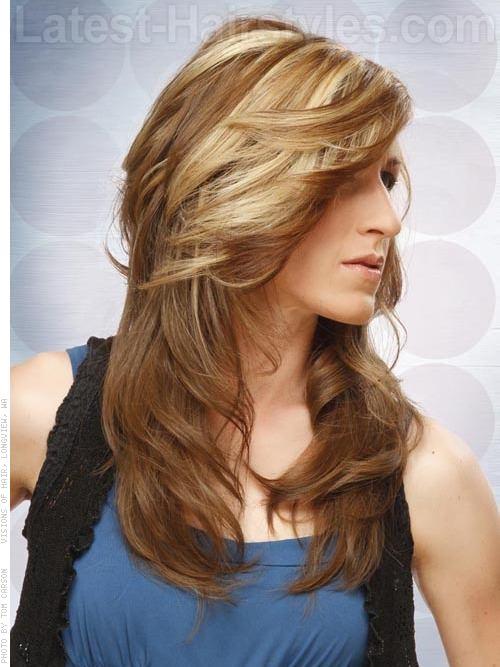 Lovely Long Shag Hairstyle Ideas Long Shags
