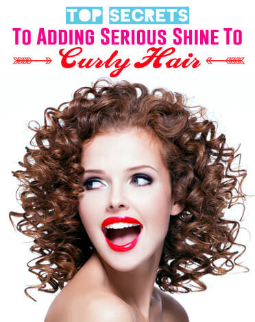 The Top Secrets to Shiny Curly Hair
