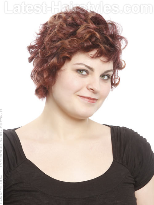 Cinnamon Curls Lovely Loose Pixie Naturally Styled