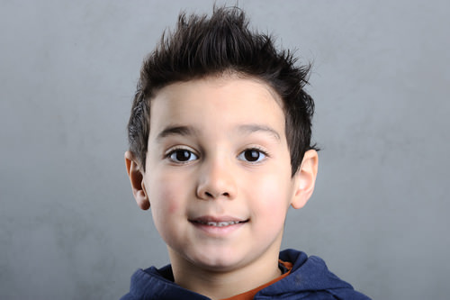 Spiked Up Cute Hairstyle For A Little Boy How To Style