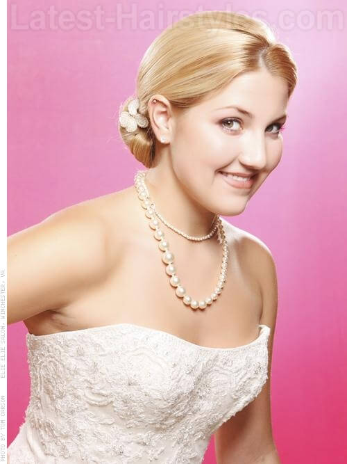 formal hairstyle chignon