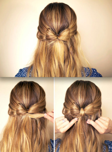 show you Youtube user Bebexo's take on the bow hair trend. Her bow ...