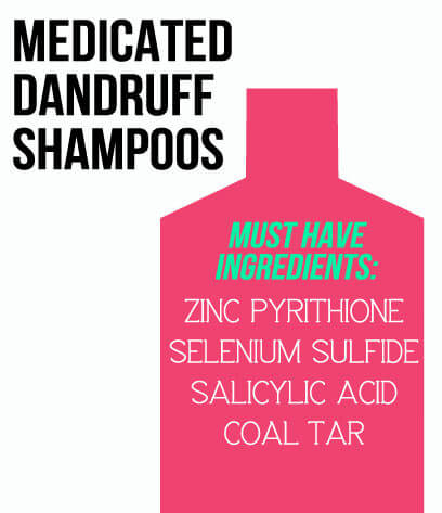 dandruff shampoo ingredients