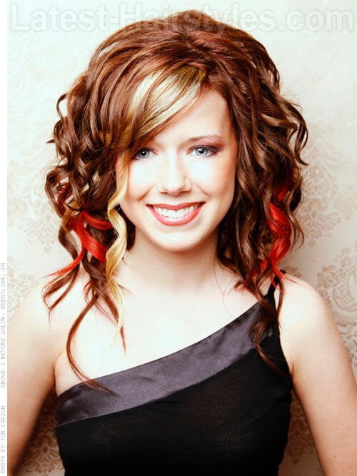 blonde pick a boo hair style dark brown hairs. Black Bedroom Furniture Sets. Home Design Ideas