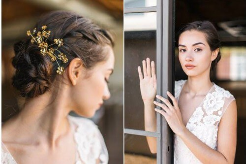 Fall Wedding Hair Ideas - Boho Updo