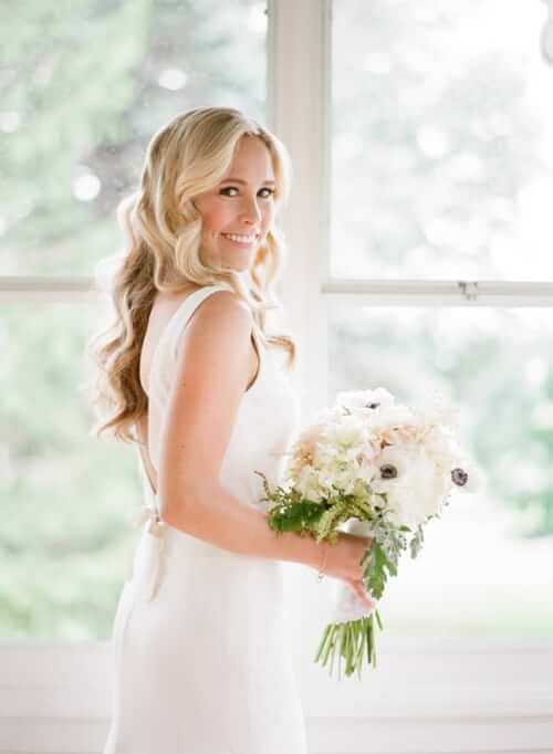 Fall Wedding Hair Ideas - Bombshell Curls