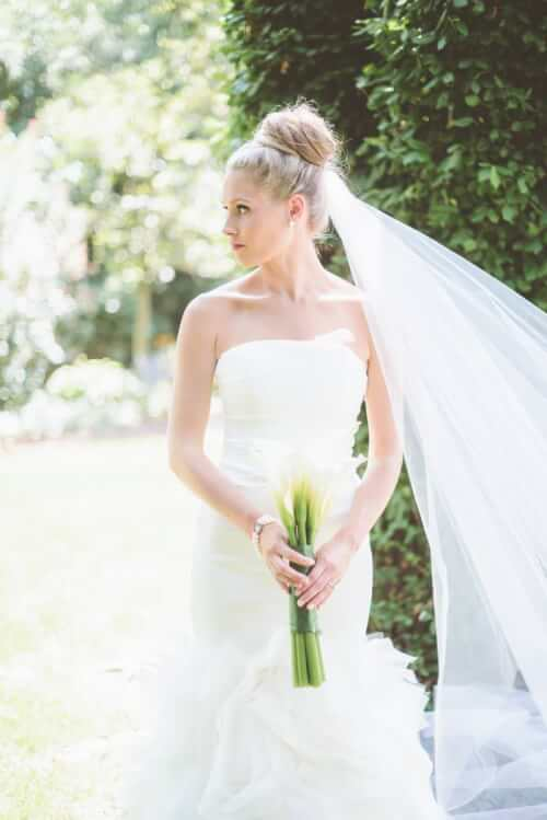 Fall Wedding Hairstyles - Sophisticated Updo