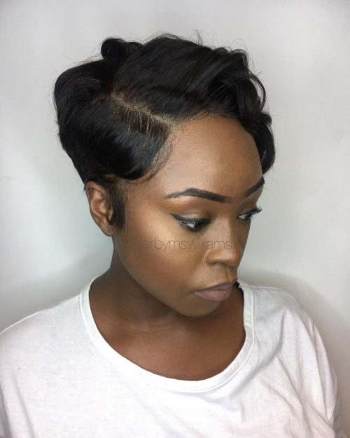 24 Hottest Short Weave Hairstyles In 2019