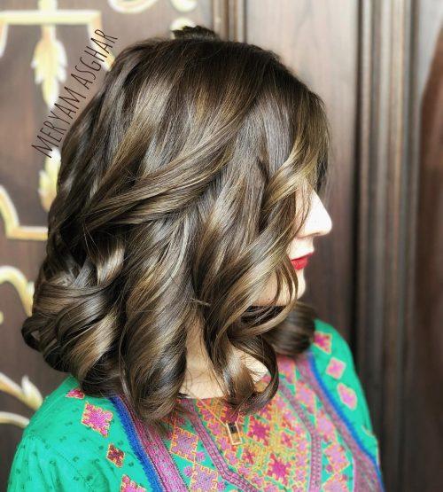 100 Cute Easy Hairstyles For Shoulder Length Hair In 2019