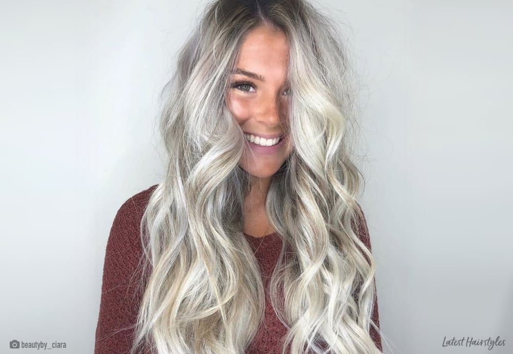 12 Ash Blonde Balayage Hair Colors Youll Want To Copy