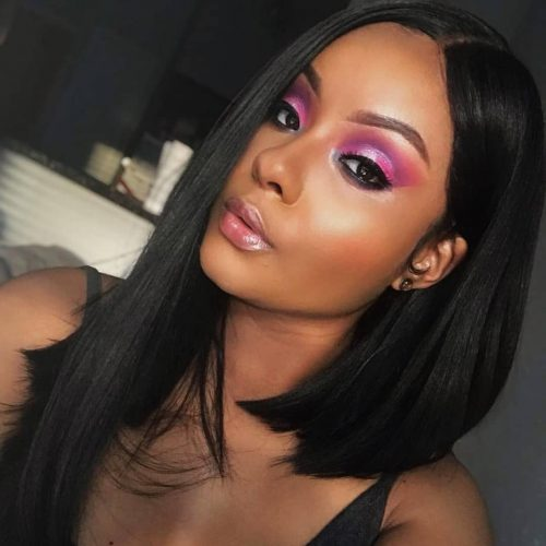 15 Perfect Middle Part Bob Hairstyles (Weaves, Sew,Ins, etc..)