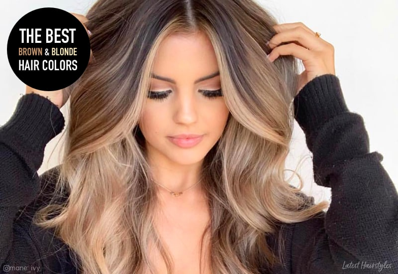 15 Stunning Examples Of Brown And Blonde Hair For 2019