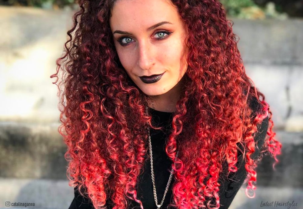 Ombre For Curly Hair 14 Gorgeous Examples In 2019