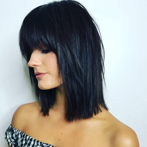 50 Hottest Medium Length Layered Haircuts & Hairstyles