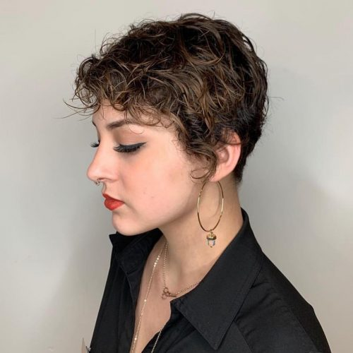 30 Curly Short Hairstyles For Womens