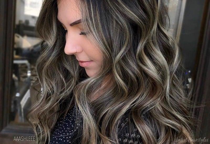 17 Stunning Dark Brown Hair With Blonde Highlights 2019