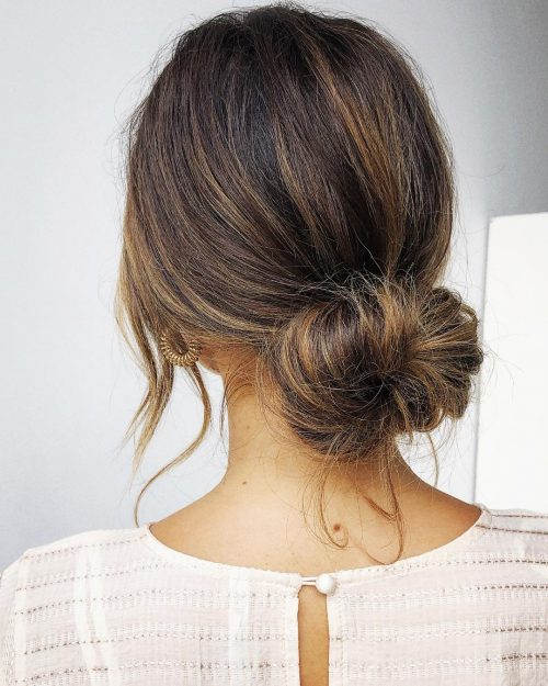 16 Easy Bun Hairstyles To Try Tending In 2019