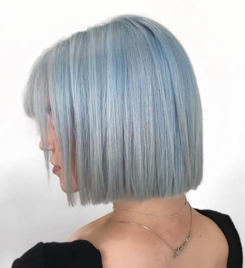 Faded Icy Blue