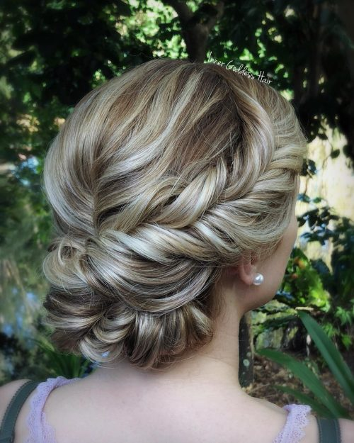 20 Simple Updos That Are Super Cute Easy 2019 Trends