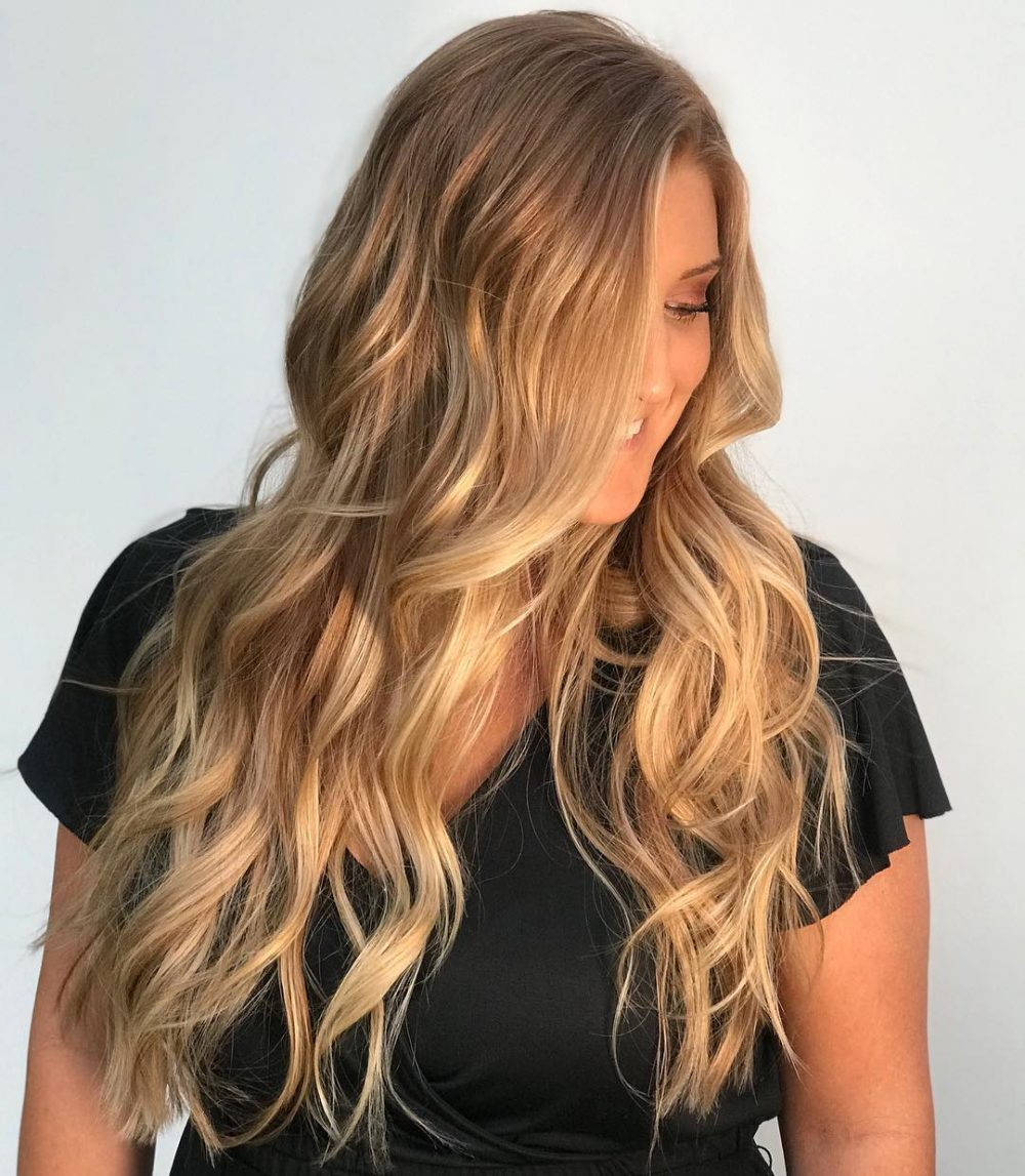25 Prettiest Hair Highlights For Brown Red Blonde Hair In