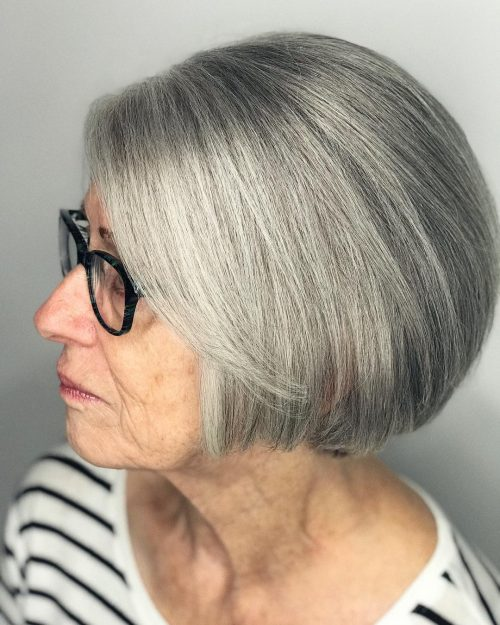 21 Edgy & Cute Short Hairstyles & Haircuts for Women Over 60