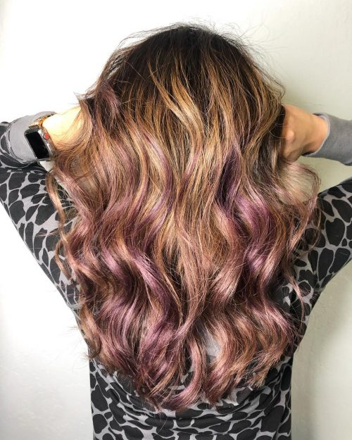 22 Stunning Purple Ombre Hair Color Ideas For 2019