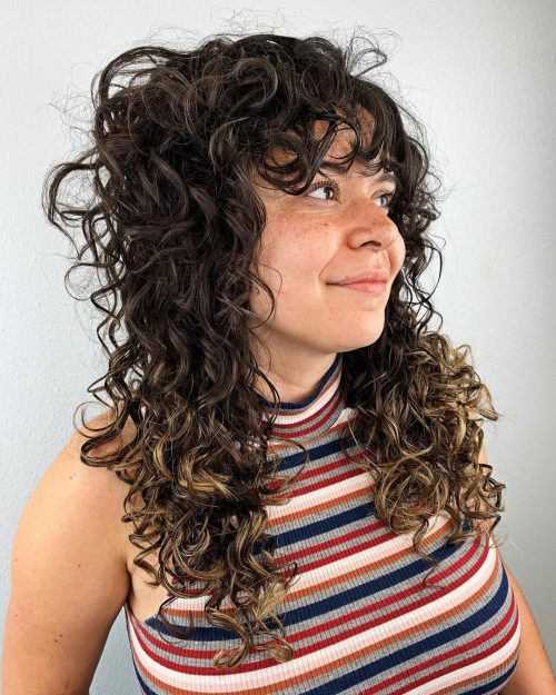 15 Curly Bangs That Prove This 2019 Hair Trends Is Hot