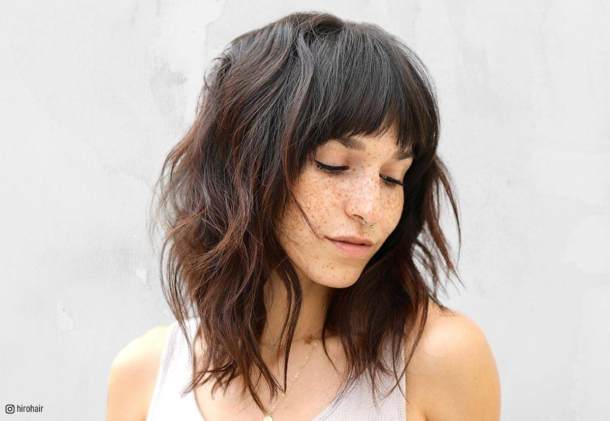 21 Best Long Layered Bob Layered Lob Hairstyles In 2019