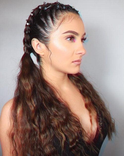 crimped hair hairstyles modern 80s loose instagram trends