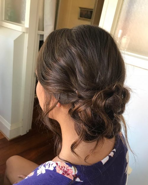 Low Loose Bun Hairstyles For Weddings: 18 Sexiest Messy Updos You'll See In 2019